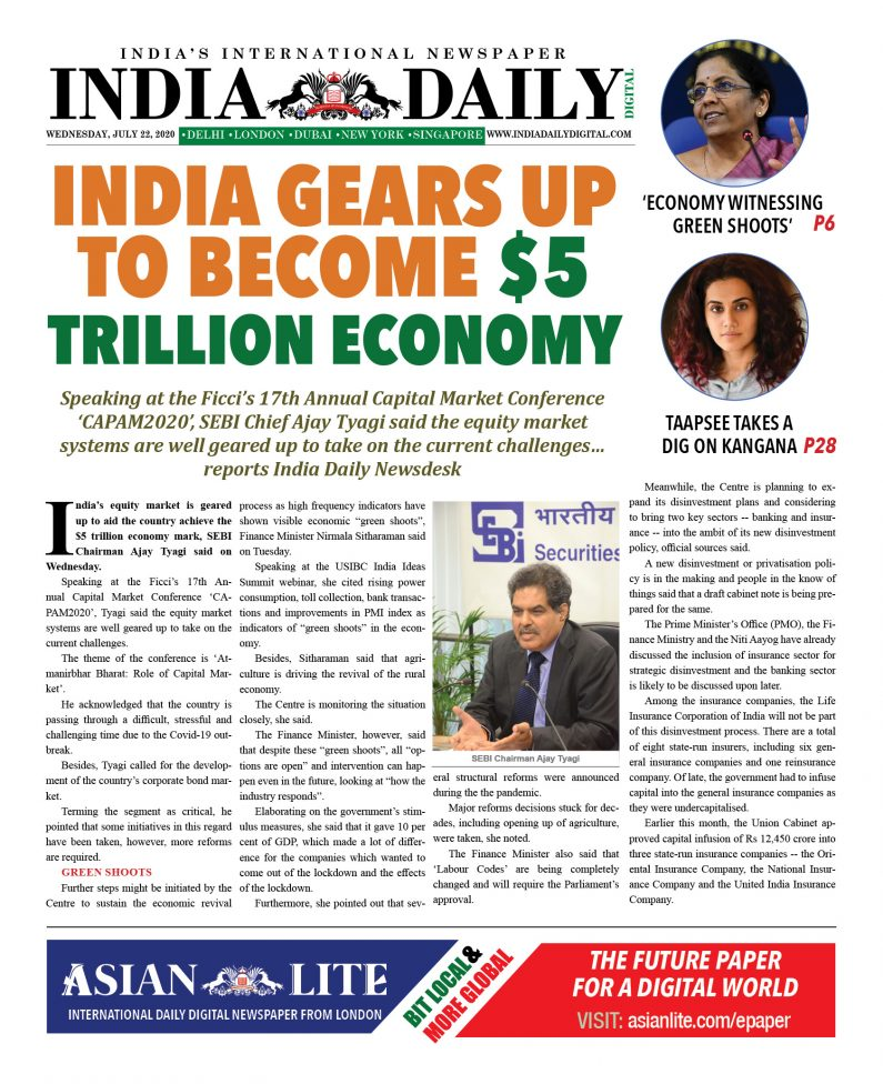 Asian Lite DD INDIA – July 22, 2020