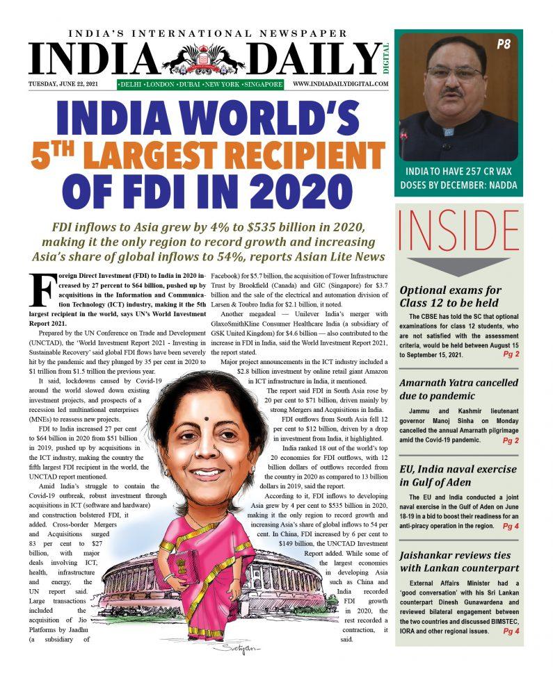 INDIA DD – June 22, 2021